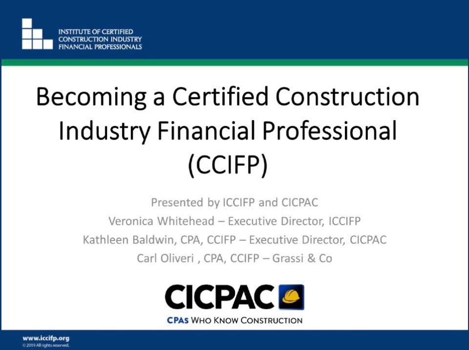 Your Path to a CCIFP Certification