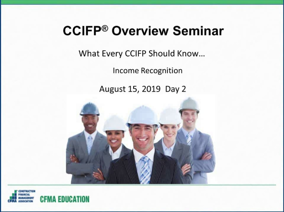 CCIFP Overview Seminar - Day 2