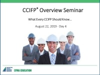 CCIFP Overview Seminar - Day 4