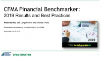 CFMA's 2019 Financial Benchmarker Results Revealed