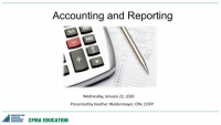Accounting and Reporting Day - 1