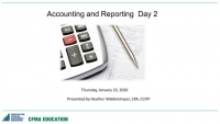 Accounting and Reporting Day - 2