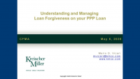 Understanding and Managing PPP Loan Forgiveness