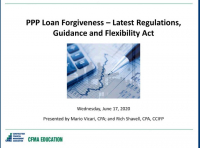 PPP Loan Forgiveness – Latest Regulations, Guidance and Flexibility Act