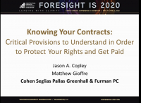 How to Get Paid by Knowing Your Contracts Provision to Protect Your Rights and Get Paid