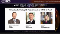Addressing the HR, Legal & Project Impacts of COVID-19 Panel