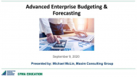 Advanced Enterprise Budgeting and Forecasting