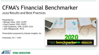 CFMA'S 2020 Financial Benchmarker Results Revealed