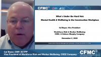 What's Under the Hardhat: Mental Health & Wellbeing in the Construction Workplace