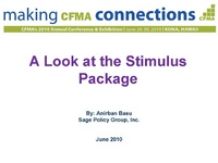 Will the Stimulus Package Finally Yield More Work & More Jobs?