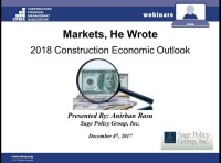 Markets, He Wrote:  Looking for Clues into the 2018 Economy's Direction