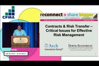 Contracts & Risk Transfer-Critical Issues for Effective Risk Management