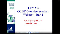 CCIFP Overview Seminar: Day 2