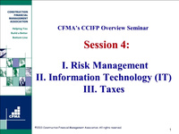 CCIFP Overview - Day 4