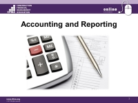 Accounting & Reporting - Session 1