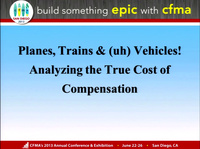 Planes, Trains & (uh) Vehicles! Analyzing the True Cost of Compensation