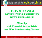 Dawn Peer Group: Wake Up with Financial Survey Trivia & Why Benchmarking Matters