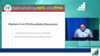 Dawn Peer Group: Medium-Firm CFO Roundtable Discussions