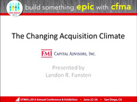 Acquisition Activity in the U.S. Construction  Industry: Trends & Forecasts