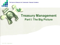 Mini Conference III: Treasury Management
