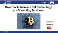 How Blockchain and IOT Technology Are Disrupting Business