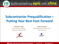 Subcontractor Prequalification - Putting Your Best Forward