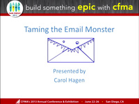Taming the E-mail Monster