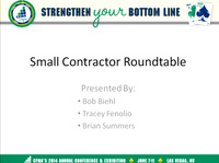 Small-Firm CFO Roundtable Discussions
