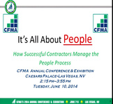 It's All About People: How Successful Contractors Manage the People Process