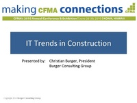 IT Trends in Construction