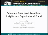 Schemes, Scams & Swindlers: Insights into Organizational Fraud