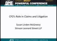 CFO's Role in the Change & Claims Process