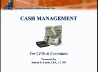 Cash Management & Advanced Cash Forecasting