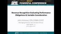 Revenue Recognition - Evaluating Performance Obligations & Variable Consideration