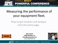 Measuring the Performance of Your Equipment Fleet