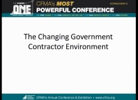 The Changing Government Contractor Environment