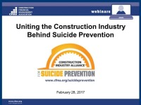Uniting the Construction Industry Behind Suicide Prevention