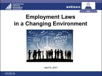 Employment Law in a Changing Environment