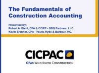 The Fundamentals of Construction Accounting