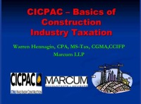 Fundamentals of Construction Taxation