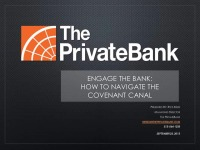 Engage the Bank: How to Navigate the Covenant Canal