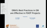 DBIA's Best Practices in Design-Build are Effective in FDOT Projects