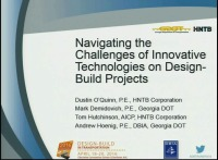 Navigating the Challenges of Innovative Technologies on Design-Build Projects