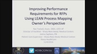 Improving Performance Requirements for RFPs Using LEAN Process Mapping - Owner's Perspective