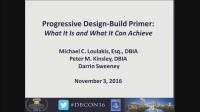 Progressive Design-Build Primer: What it is and What it Can Achieve