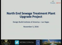 City of Winnipeg's North End Sewage Treatment Plant Upgrade