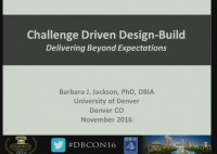 Challenge Driven Design-Build: Delivering Results Beyond Expectations