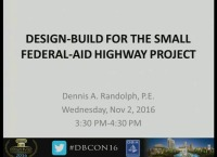 Design-Build for the Small Federal-Aid Highway Project