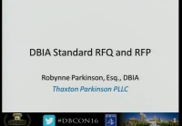 New Standard Form of RFQ and RFP: Rollout and Review
