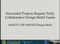 Oversight Best Practices: The I-35E Project Team: Part 1